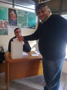 Jorge Alvaro, candidato a secretario General  en Gral. Alvarado- Monte- Pila