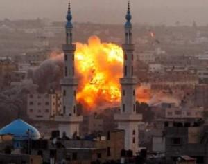 palestina bomba Gaza