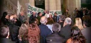 ajb Bahia blana repudio a la persecucion septiembre 2014