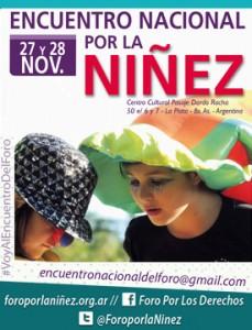 encuentro-nacional-por-la-niñez-afiche