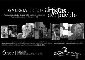 homenaje artistas del pueblo