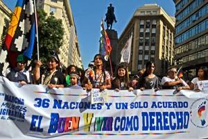 marcha mujeres indigenas