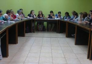 mujeres  2reunion provincial 04 2015