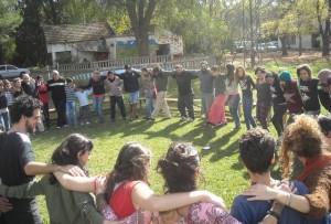 ruca hueney campamento 1 de mayo 2015
