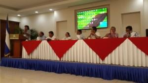 micheli encuentro sindical america del sur  y caribe 2015.