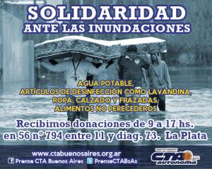 donaciones flyer