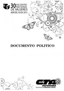 genero tapa documento político
