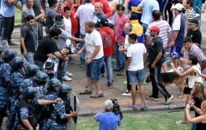 repersión municipales 8 enero gente y canas