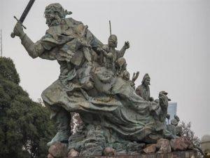 juana azurduy estatua