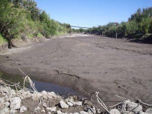 El Río Atuel en La Pampa